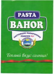 Макаронные изделия BAHOR