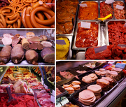 Колбасные изделия,  сосиски,  сардельки,  фрикадельки из Финляндии