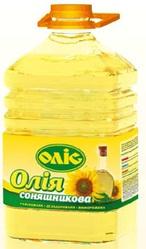 Подсолнечное масло ТМ Олис